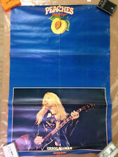 Gregg Allman Poster Original Capricorn Records Promo 1974; 24x36