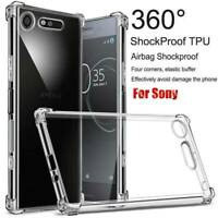For Sony Xperia 1 XZ3 10 Plus XA2 Ultra Clear Shockproof Case Slim Compact Cover