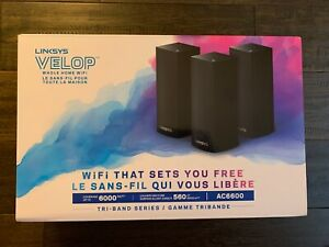 """Linksys Velop AC6600 Wifi Mesh System, """"as-new condition"""", 9 months warranty"""
