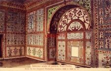 INDIA. INTERIOR SCALE OF JUSTICE, FORT DELHI built by the Emperor Shahjahan