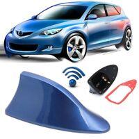 Universal Auto Dach Radio AM / FM Haifischflosse Antenne Signal Blau GE