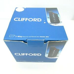 Clifford 1-Way Security and Remote Start Model: 202 (P/N 5102X)