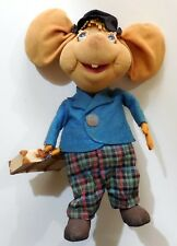 vintage TOY DOLL TOPO GIGIO TRAVELLING LENCI BY LARS 1960s made in Italy