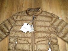 Authentic Moncler Acorus Gold Brown Jacket Size 5 XL