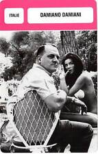 FICHE CINEMA :  DAMIANO DAMIANI -  Italie (Biographie/Filmographie)