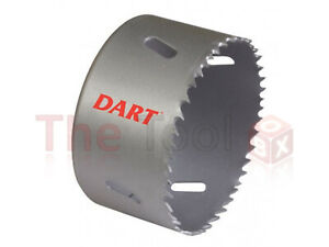 DART 64mm HSS Bi-Metal Hole Saw DAH064 Wood/Aluminium/Plastic/Cast Iron/Brass