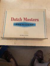 Cigar Box Dutch Masters President.