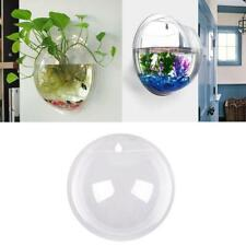 Wall Mounted Hanging Bowl Fish Tank Pot Plant Goldfish Hanger For Home Decore