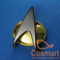 1:1 Star Trek The Next Generation Communicator Magnetic Captain Badge Pin New