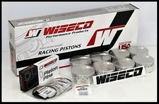 BBC CHEVY 572 WISECO FORGED PISTONS & RINGS 4.560 BORE -18cc DISH TOP KP462A6