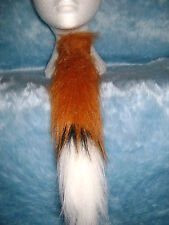 Mr Bean The Farmer Fantastic Mr Fox Tie Themed Fake Fur Fancy Dress Foxtail Tie