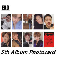 Kpop EXO D Version Limited Photo Cards Don't Mess Up My Tempo Photocard Poster