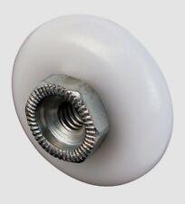 """2pk Prime-Line 3/4"""" Plastic Steel Shower Door Roller Replacement Wheel 1901-A"""
