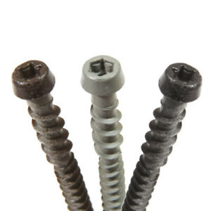 Smartboard composite decking screws Box 200 available in 3 colours