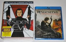 Horror Blu-ray Set - The Resident Evil Collection (New) The Final Chapter (New)