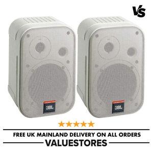 "JBL PAIR Control 1 Professional 5.25"" 2-Way Speaker With Bracket 150W White"