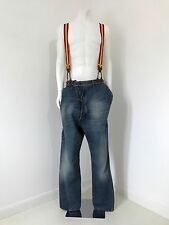 Rare Vivienne Westwood MAN Label 'Alcoholic' Distressed Wash Jeans Size 52