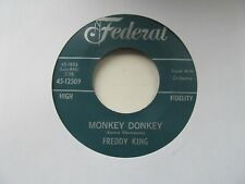 "FREDDY KING Monkey Donkey/Surf Monkey USA 7"" Single EX Cond"