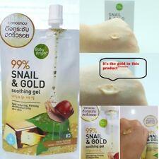 99% Anti-Aging gel Wrinkle Firming lightening skin beauty snail & gold soothing