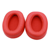 Replacement EarPads Ear Cushions for Sony MDR-100ABN MDR-100AAP MDR-100A Red