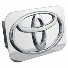 "Toyota Chrome Stainless Steel 2"" Trailer Tow Hitch Cover"