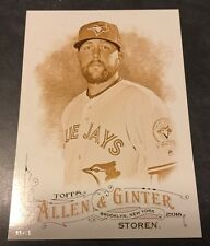 2016 Topps Allen & Ginter Gold 5x7 Card Drew Storen Toronto Blue Jays 9/10