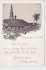 I 151-AK precoce lito SALUTO V. monarca collina Grossgörschen B. Lützen, 1896 GLF