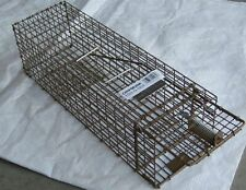 2 Cage traps for Chipmunks,squirrels, rats small rodents.Live catch traps, K150