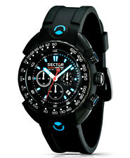 OROLOGIO SECTOR UOMO SHARK MASTER CHRONO WATCH GENT R3271678125 (P.LIST Eur 360)