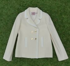 Juicy Couture lady white jacket / Coat - in good condition