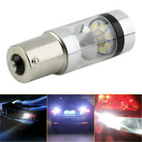 White S25 P21W 100W BA15S 1156 LED Canbus Backup Reversing Light  Lamp Useful