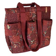 Donna Sharp Utility Bag for Everyday, Travel or Work in Autumn Pattern (SALE!)