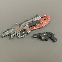 Lot of 2pcs Weapons accessories for 7'' Gears Of War Action Figure