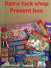 Sweet Shop Tuck Box Kids Chocolate Hamper Box candy retro wham haribo black jack