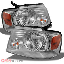 Fit 2004-2008 Ford F-150 F150 /2006 Lincoln Mark LT Headlights Headlamps L+R