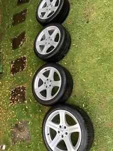 Genuine Mercedes Benz CLS W219 alloy wheels 18 Inch