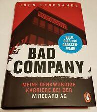 Buch JÖRN LEOGRANDE: Bad Company Meine denkwürdige Karriere bei der Wirecard AG