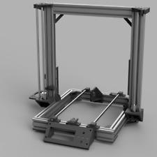 Anet A8 Umbaukit AM8 für Aluminiumrahmen Kunststoffteile Set Grau