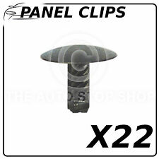 Clip Pannello PORTE pannels 6,2 mm Fiat Punto / 500 / IDEA / STILO / DOBLO / 147 10476 22pk