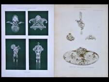PORTEFEUILLE REVUE ARTS DECORATIFS - 1898 - 51 PLANCHES ART NOUVEAU, MAJORELLE