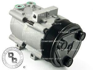 AC Compressor & Clutch Fits: 2003 - 2007 Ford F250 F350 F450 F550 V8 6.0L Diesel