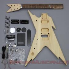Bargain Musician - GK-009L - LEFT Hand DIY Unfinished Project Luthier Guitar Kit