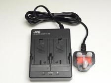 JVC AA-V80EK - Doble/Adaptador de Alimentación Cargador de batería 7.2 V 1.2 A (nuevo)