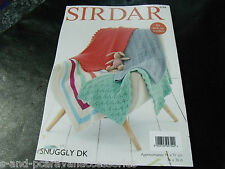 Sirdar Snuggly Double Knitting Pattern 4749 Blankets