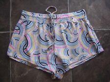 Women's Cotton On Rainbow Sleep Shorts/Pyjama Pants Size S