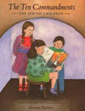 The Ten Commandments for Jewish Children, Nerlove, Miriam
