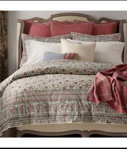 NIP Ralph Lauren Belle Pointe Avah Floral King Comforter & Shams Set 3pc