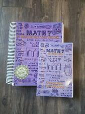 Teaching Textbooks Math 7 Complete Set [Spiral-bound]