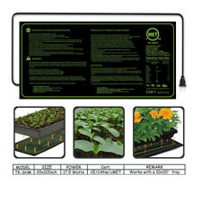 "20x10"" Waterproof Seed Starter Seedling Heat Mat Seed Germination Kit 17W Bf"