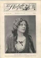 1903 Miss Lena Ashwell In Dante Drury Lane